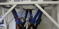 High payload positioning Hexapod Symmetry - Energy