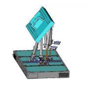 Engine test bench - Symétrie