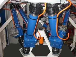 high payload positioning hexapod