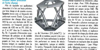 Machines Production ZONDA hexapode