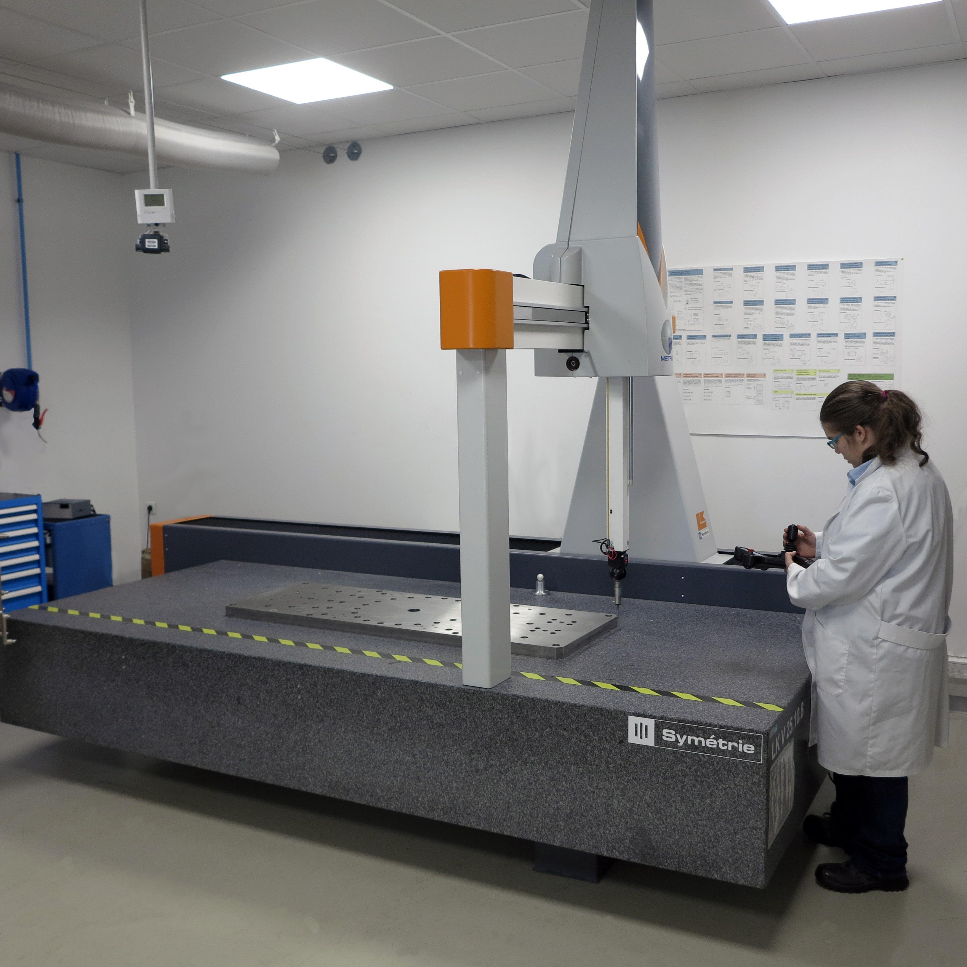 MMT en labo de métrologie