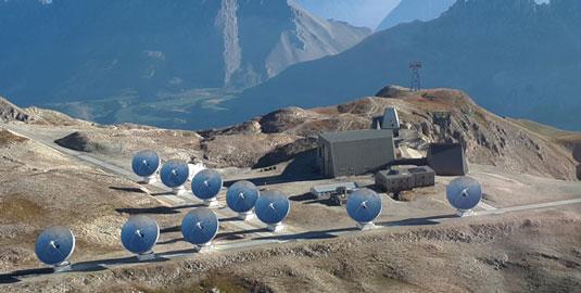 Symétrie-10 antennas