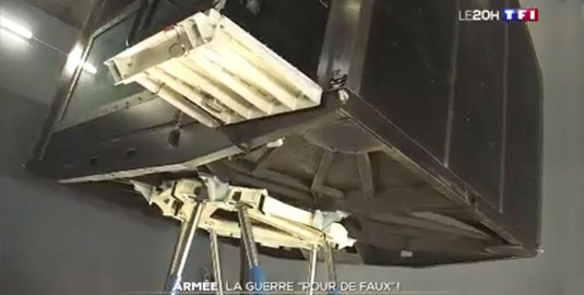 Our hexapods on TV!