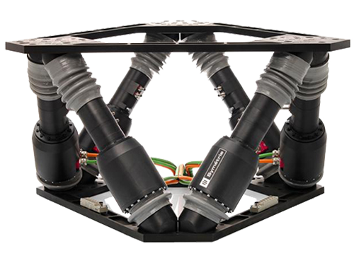 SURES - Precision positioning hexapods by Symétrie