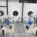 SIROCCO and AQUILON wave simulation hexapods in the GTT liquid motion test laboratory