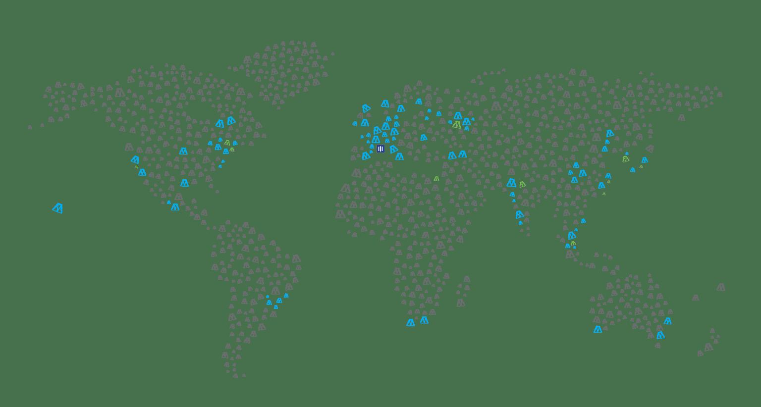 Hexa Map Homepage