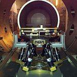 BREVA hexapod in vacuum chamber