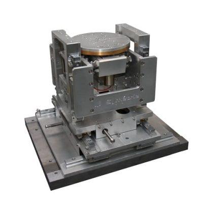 Vacuum 5 axis positioner